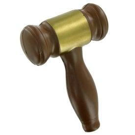 Gavel Stress Toy for Your Company