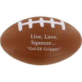 GEL-EE Gripper Football Stress Ball Printed with Your Logo