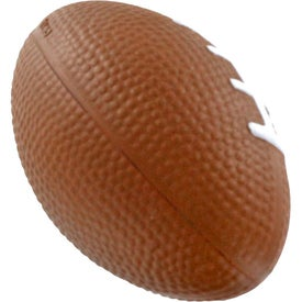 Personalized GEL-EE Gripper Football Stress Ball
