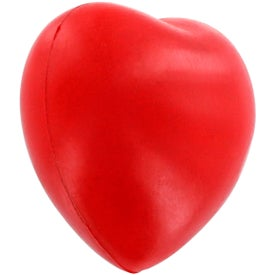 GEL-EE Gripper Valentine Heart Stress Ball Printed with Your Logo