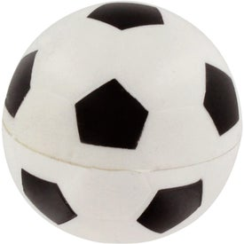 Branded GEL-EE Gripper Soccer Stress Ball