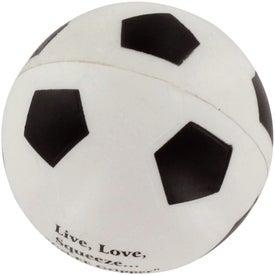 GEL-EE Gripper Soccer Stress Ball for Your Organization