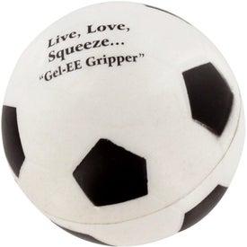 GEL-EE Gripper Soccer Stress Ball