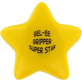 GEL-EE Gripper Star Stress Ball for Advertising