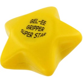 GEL-EE Gripper Star Stress Ball with Your Logo