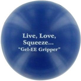 Promotional GEL-EE Gripper Stress Ball
