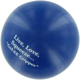 GEL-EE Gripper Stress Ball Branded with Your Logo
