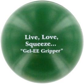 Advertising GEL-EE Gripper Stress Ball
