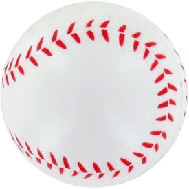 GEL-EE Gripper Baseball Stress Ball Printed with Your Logo