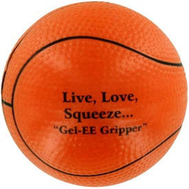 GEL-EE Gripper Basketball Stress Ball for Promotion