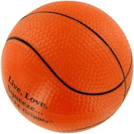 GEL-EE Gripper Basketball Stress Ball for Your Organization