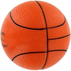 GEL-EE Gripper Basketball Stress Ball for Advertising