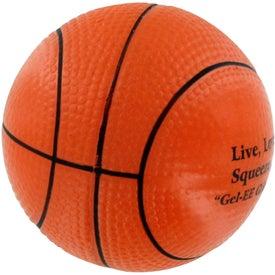GEL-EE Gripper Basketball Stress Ball for your School