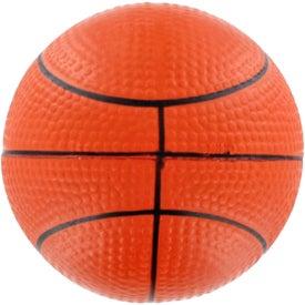 Customized GEL-EE Gripper Basketball Stress Ball