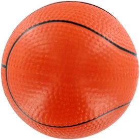 GEL-EE Gripper Basketball Stress Ball with Your Slogan