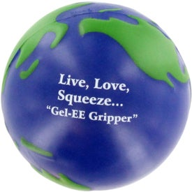 GEL-EE Gripper Earthball Stress Ball for your School