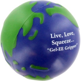 Printed GEL-EE Gripper Earthball Stress Ball