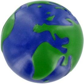Personalized GEL-EE Gripper Earthball Stress Ball