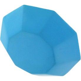 Monogrammed Gemstone Stress Reliever