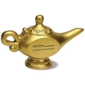 Genie Lamp Stress Reliever for Customization
