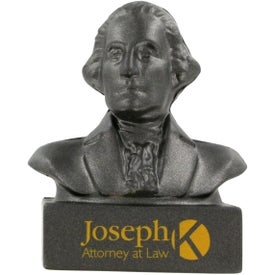 Printed George Washington Bust Stress Ball