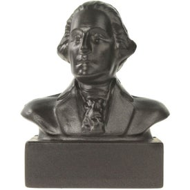 Branded George Washington Bust Stress Ball