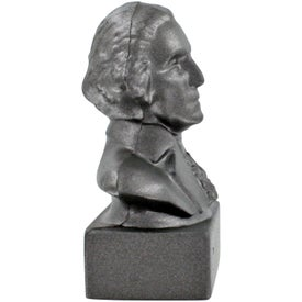 Customized George Washington Bust Stress Ball