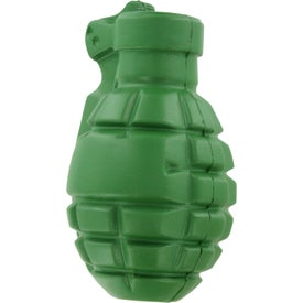 Imprinted Grenade Stress Ball