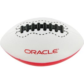 Giant Football Stress Toy Imprinted with Your Logo