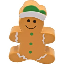 Gingerbread Man Stress Toy