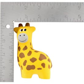 Giraffe Stress Ball Branded with Your Logo