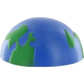 Earth Ball Stress Ball Magnet Branded with Your Logo