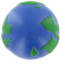 Earth Ball Stress Ball Magnet