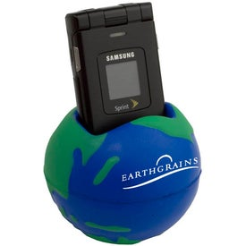 Promotional Globe Cell Phone Holder