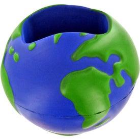 Earth Desktop Bin Stress Ball for Your Organization
