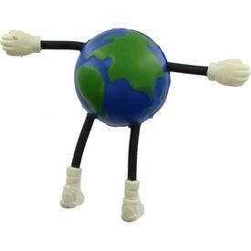 Customized Globe Guy Stress Ball