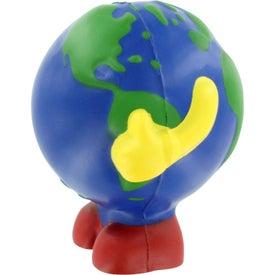Earthball Man Stress Ball for Customization