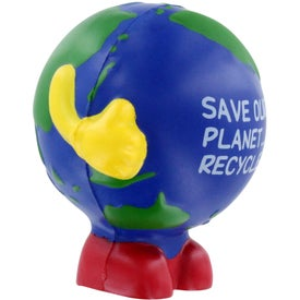 Earthball Man Stress Ball for your School