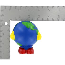 Earthball Man Stress Ball with Your Logo