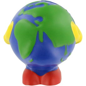 Earthball Man Stress Ball Printed with Your Logo
