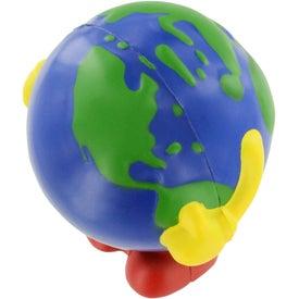 Customized Earthball Man Stress Ball