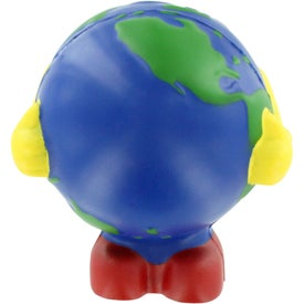 Earthball Man Stress Balls
