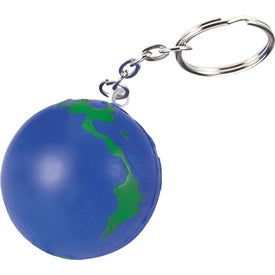 Earthball Key Chain Stress Ball for your School