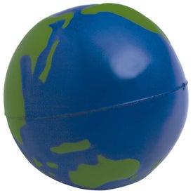 Advertising Globe Stress Ball