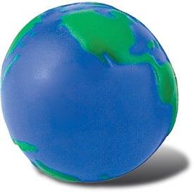 Custom Globe Stress Ball