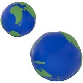 Globe Stress Ball for Your Company