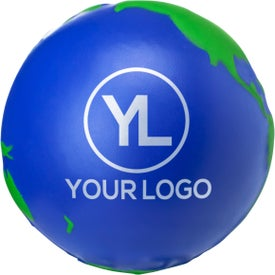 Globe Stress Ball Branded with Your Logo