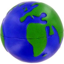 Advertising Earthball Stress Ball