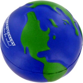 Earthball Stress Ball for Your Company