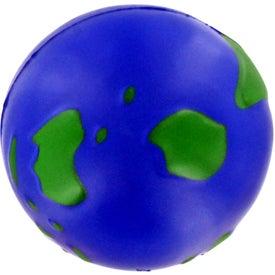 Imprinted Earthball Stress Ball